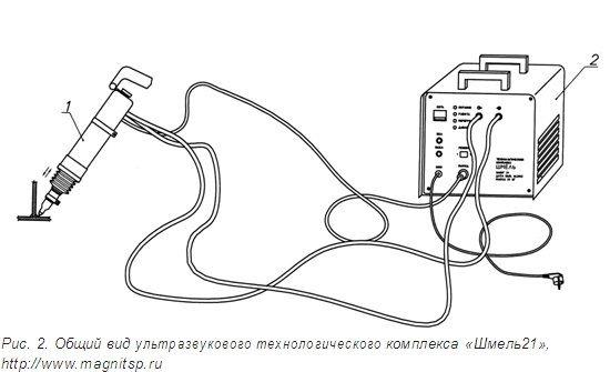 Ультразвуковой технологический комплекс «Шмель»